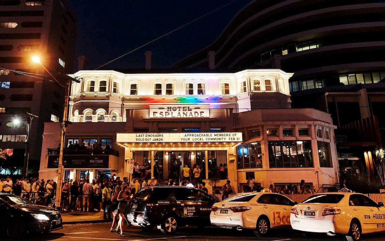 Ra Hotel Esplanade Melbourne Nightclub