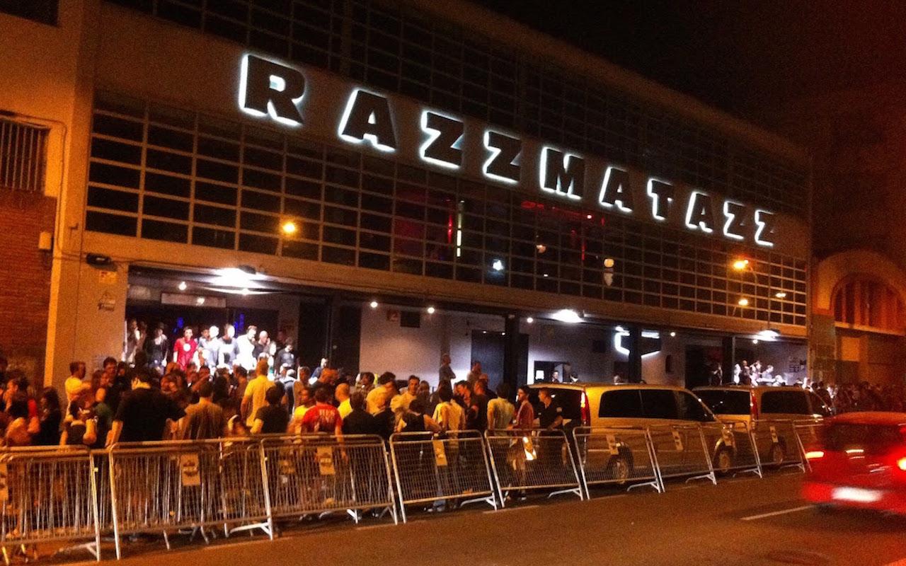 Ra razzmatazz barcelona nightclub for Night club barcelona