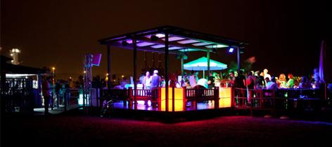 Ra mac arena mar beach club barcelona nightclub for Beach club barcelona