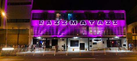 Ra Razzmatazz Barcelona Nightclub