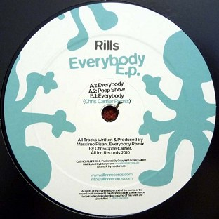 RILLS - Everybody (Chris Carrier remix) cover
