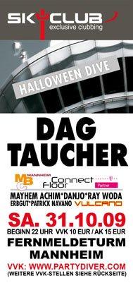 Dag Halloween.Ra Halloween Dive Dag At Sky Club Mannheim 2009