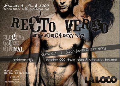 RA: Recto.Verso at La Loco, Paris (2009)