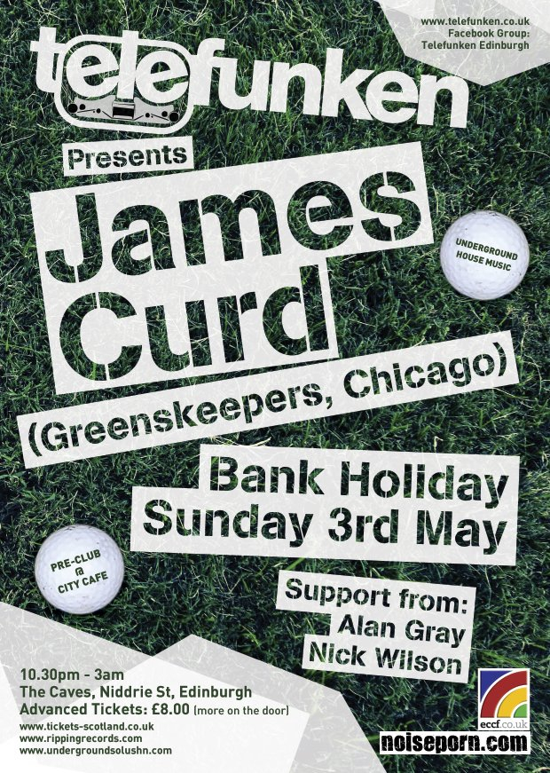 RA: Telefunken presents James Curd (Greenskeepers, Chicago) at The