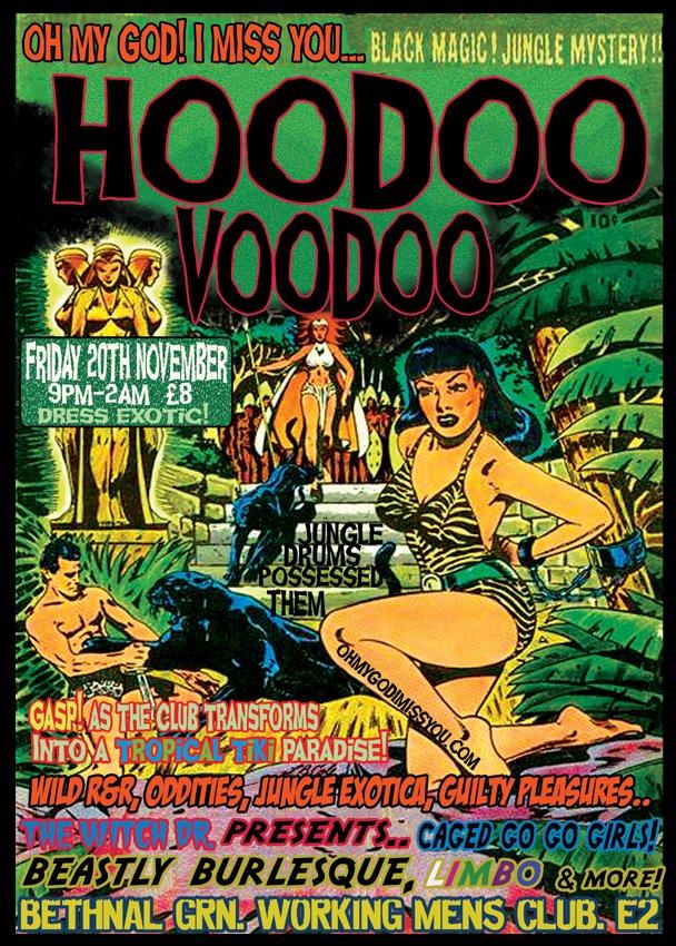 RA: Hoodoo Voodoo Jungle Boogie Night at Bethnal Green