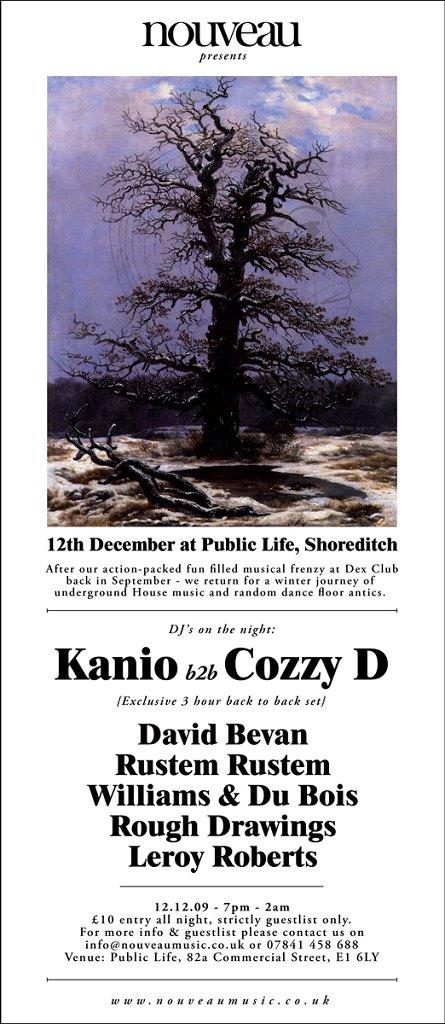 RA: Nouveau with Kanio B2b Cozzy D at Public Life, London (2009)