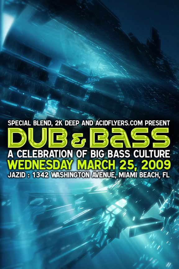 RA: Dub and Bass at Jazid, Miami (2009)