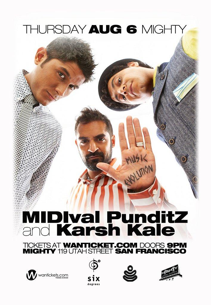 RA: Midival Punditz & Karsh Kale at The Mighty, San