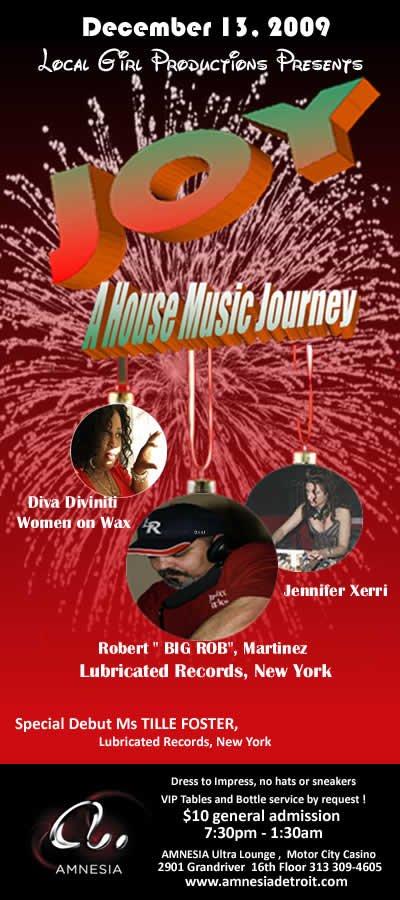 Ra Joy A House Music Journey At Amnesia Ultra Lounge