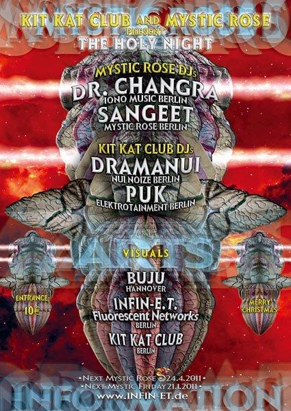 Ra Mystic Rose Und Kit Kat Club Present The Holy Night At