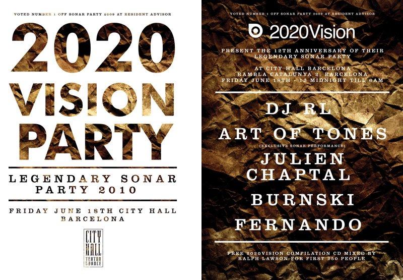 Sonar Festival 2020.Ra 2020 Vision Sonar Party At City Hall Barcelona 2010