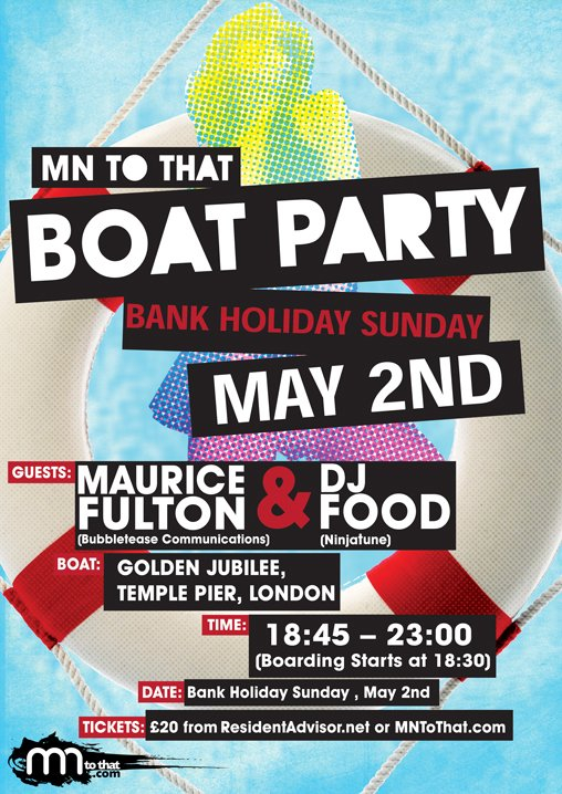 ra  mn to that boat party with maurice fulton  u0026 dj food at