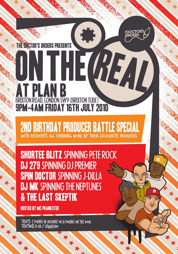 RA: On The Real 2nd Birthday at Plan B, London (2010)