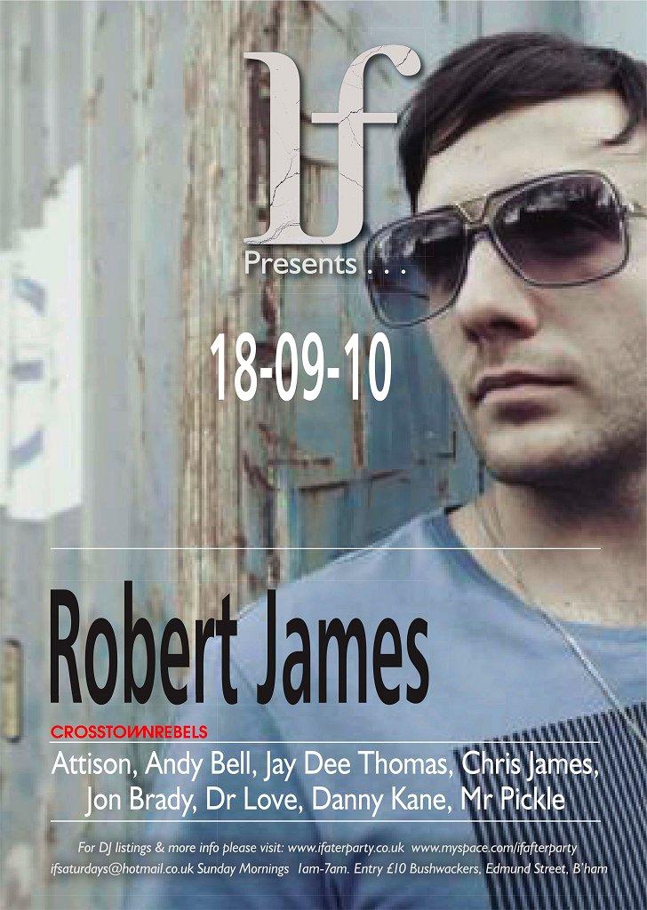 Line-up /. Robert James - uk-0918-190884-front