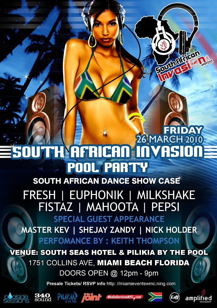 ra  f eu south african miami invasion at south seas hotel
