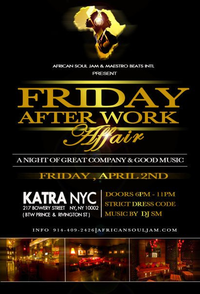 Ra After Work African Dance Party At Katra New York 2010