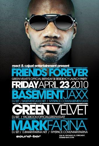 ra friends forever ft basement jaxx green velvet and mark farina