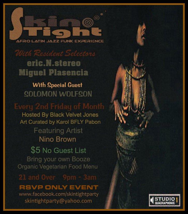 RA: Skin Tight - Afro Latin Jazz Funk Experience at Salon De