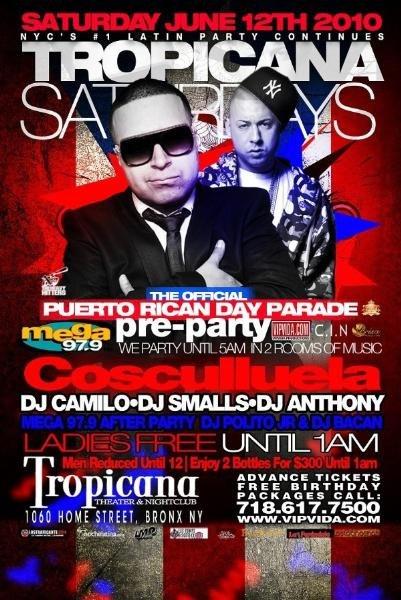 ra  official puerto rican day parade pre