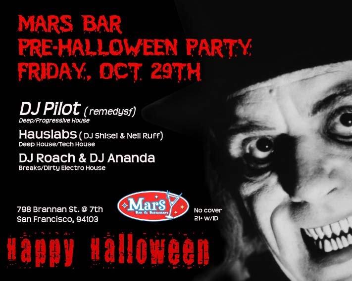 mars bar party. Mars Bar