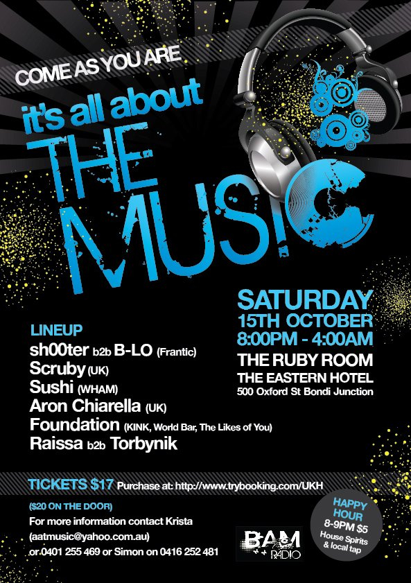 RA: It's All About The Music at The Eastern, Sydney (2011)