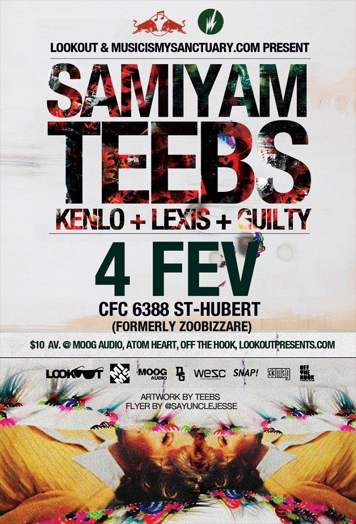 RA Samiyam Teebs Kenlo Lexis At CFC Montreal 2011