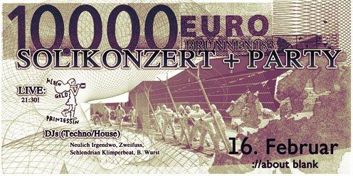 RA: 10000 Euro, Konzert Und Party at ://about blank, Berlin (2011)