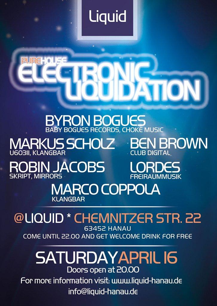 RA: Electronic Liquidation at Liquid Club, Frankfurt (2011)