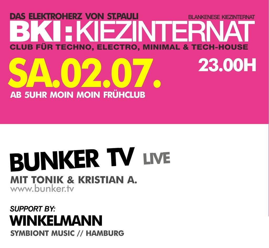 Ra bunker tv at blankenese kiez internat hamburg 2011 for Bki hamburg