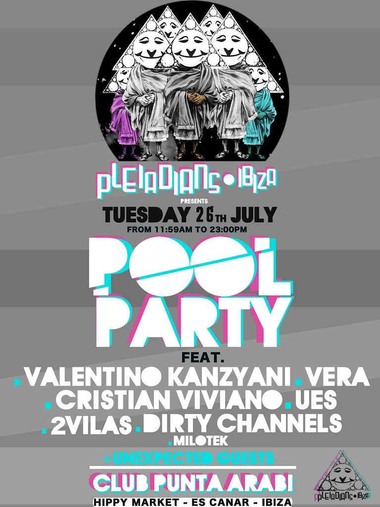 RA: Pleiadians Ibiza Pool Party at Club Punta Arabi, Ibiza