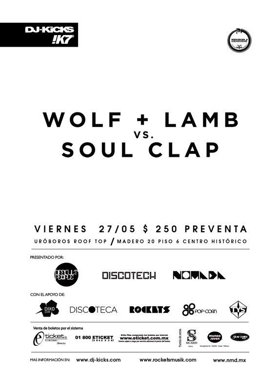 Ra Dj Kicks Tour Feat Soul Clap Vs Wolf Lamb At Terraza