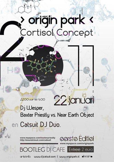 RA: Cortisol Concept at Bootleg DJ-Cafe, Rotterdam (2011)