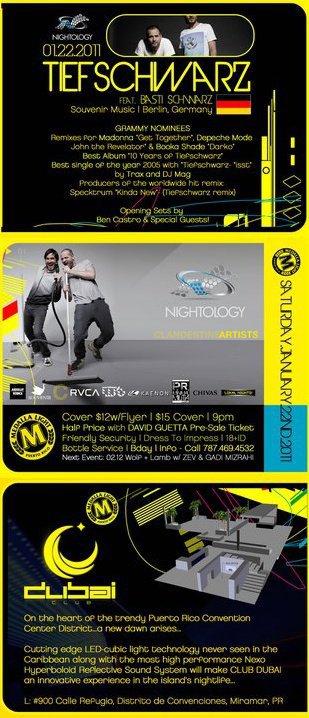 RA: Nightology and Ml present Dubai Club Opening feat