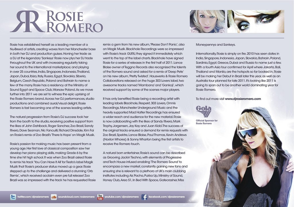 RA: Boom Tchack with Rosie Romero at Time, Philippines (2011)