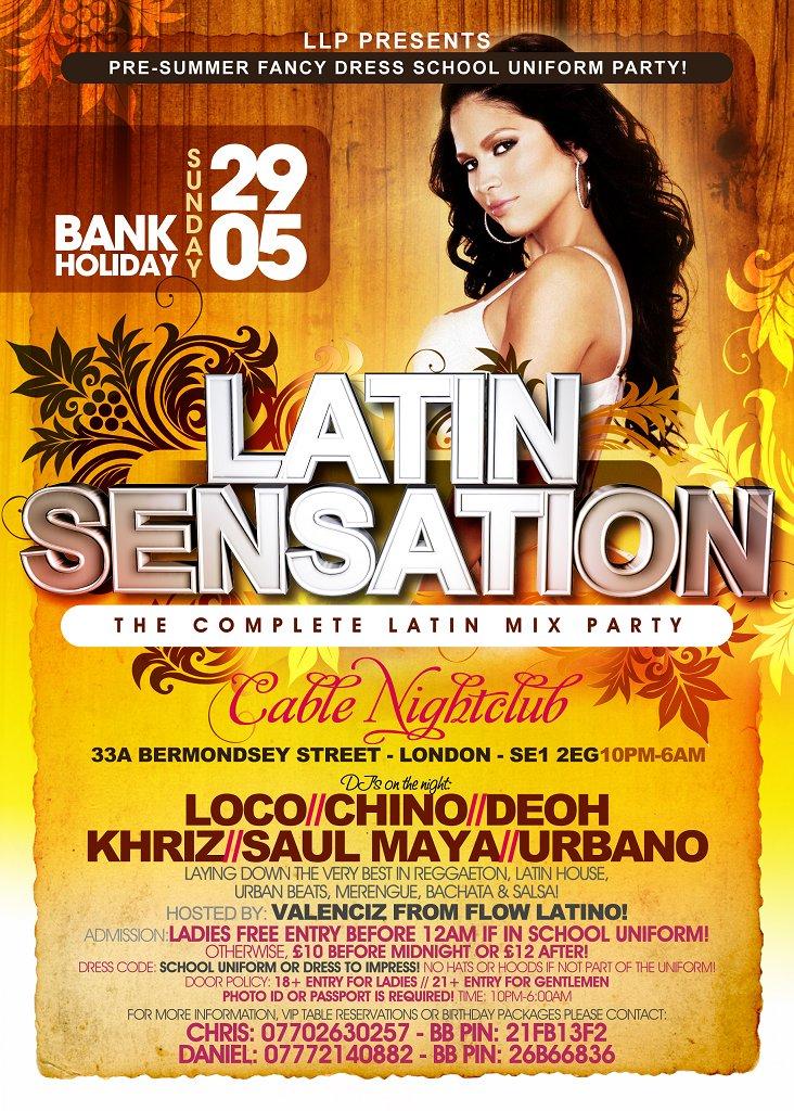Latin Sensation Night Club 69