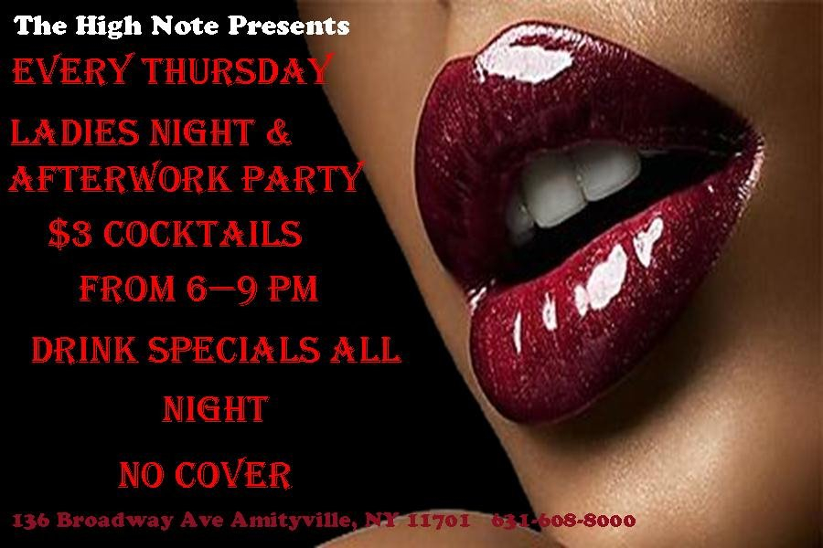 RA: New Party Alert Ladies Night After Work Party at High ...