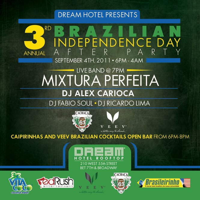 Ra 3rd Annual Brazilian Independence Day After Party At