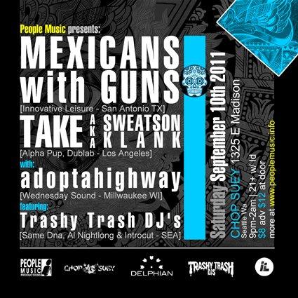 Take aka Sweatson Klank / matthewdavid - Los Angeles 2/10