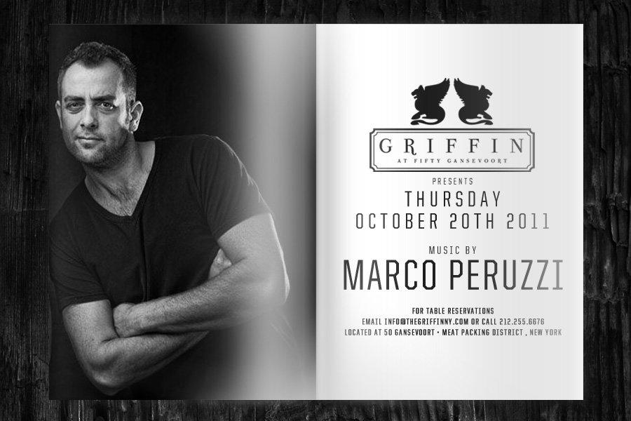 Ra Dj Marco Peruzzi At Griffin New York 2011