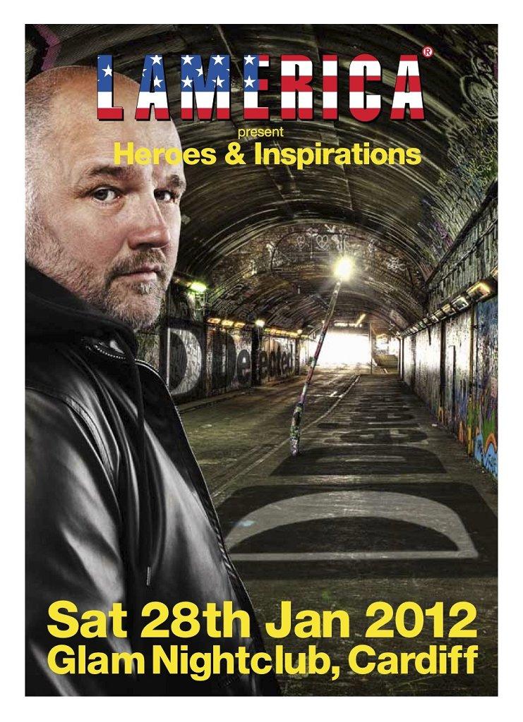 RA: Lamerica present Heroes and Inspirations Simon Dunmore at Glam ...