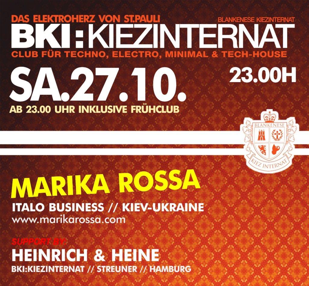 Ra marika rossa at blankenese kiez internat hamburg 2012 for Bki hamburg