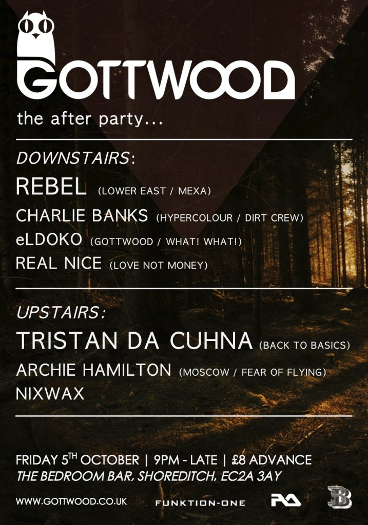 RA: Gottwood Festival Afterparty with Rebel, Tristan Da Cunha ...