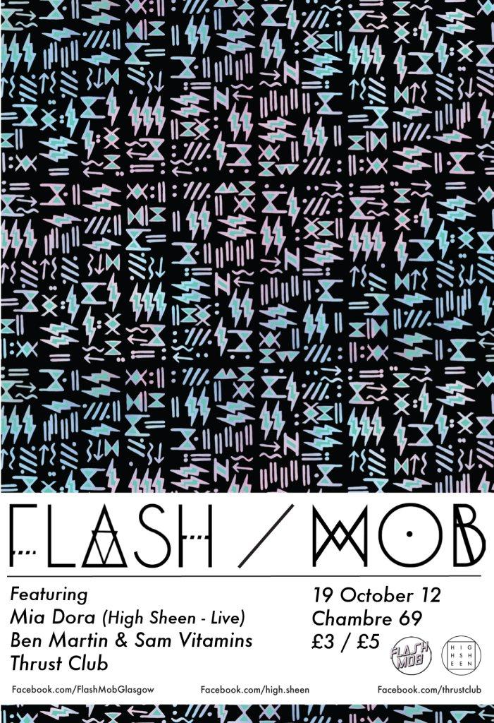 Ra flash mob glasgow with mia dora ben martin sam for Chambre 69 club glasgow