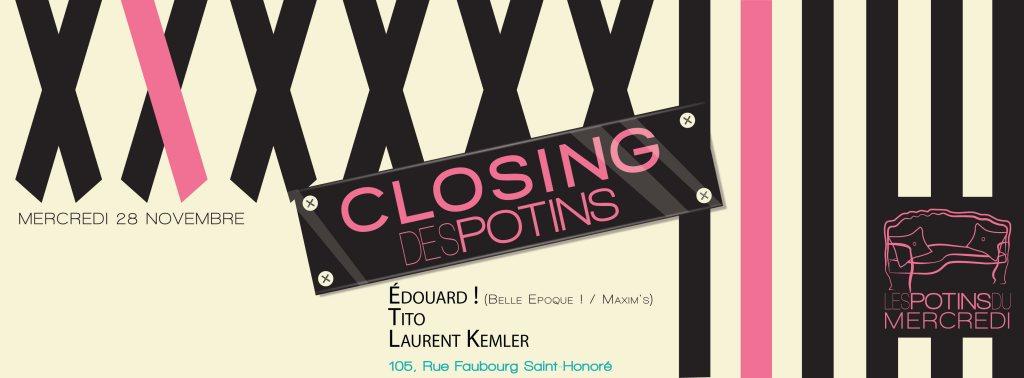 Ra closing les potins du mercredi at le salon 105 paris 2012 - Le salon 105 ...