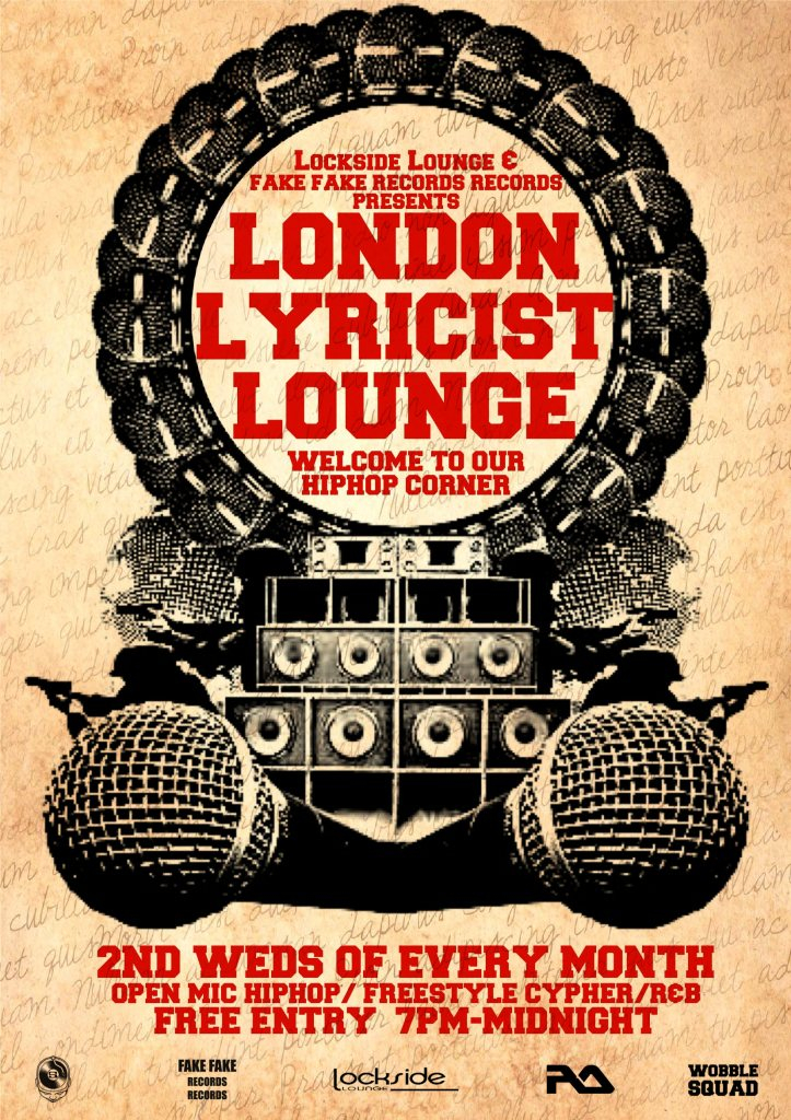 RA London Lyricist Lounge Open Mic Hiphop Freestyle Cypher Live