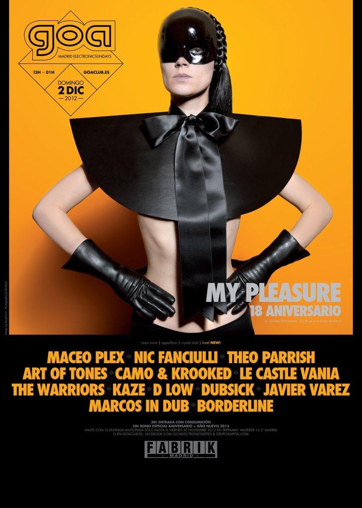 2012.12.02 - MACEO PLEX - GOA (MY PLEASURE - 18 ANIVERSARIO) @ FABRIK MADRID (SPAIN) Es-1202-419803-front