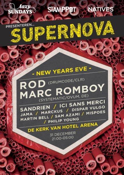 Ra Supernova New Years Eve At Hotel Arena Amsterdam 2012