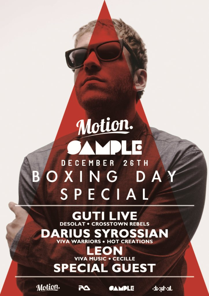 Ra motion sample boxing day special with guti live for Boxing day meuble leon