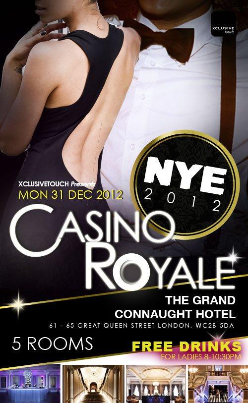 London casino new years eve