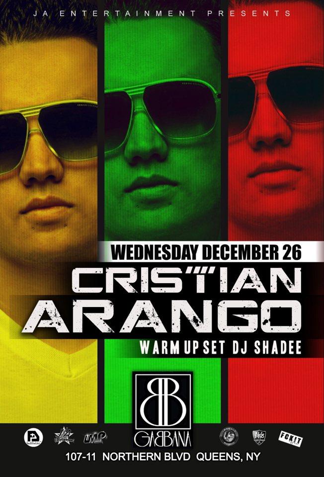 Cristian Arango Control